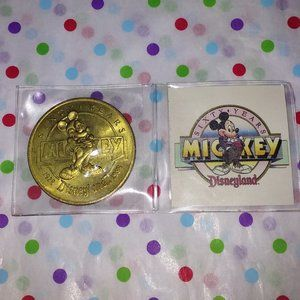 DISNEY MICKEY 60 YEARS COLLECTIBLE COIN FROM 1988